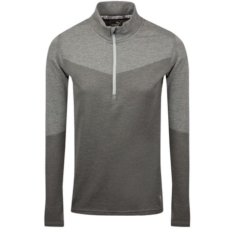 Golf undefined Womens Evoknit Quarter Zip Medium Grey Heather - SS19 made by Puma Golf