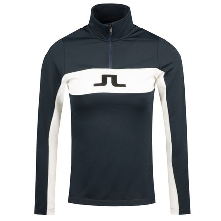 Golf undefined Womens Kimball Striped Mid Jacket Fieldsensor JL Navy - 2019 made by J.Lindeberg