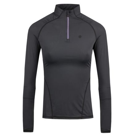Golf undefined Womens LS Tech Quarter Zip Onyx - AW18 made by G/FORE