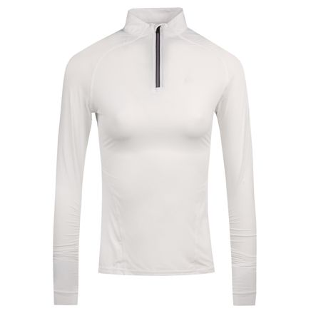 Golf undefined Womens LS Tech Quarter Zip Snow - AW18 made by G/FORE