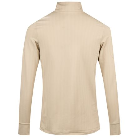 Golf undefined Womens Jacquard Herringbone Quarter Zip Dune Tan - AW18 made by Polo Ralph Lauren