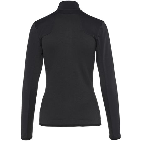 Golf undefined Womens Hubbard Mid Jacket Structure Jersey Black - 2019 made by J.Lindeberg