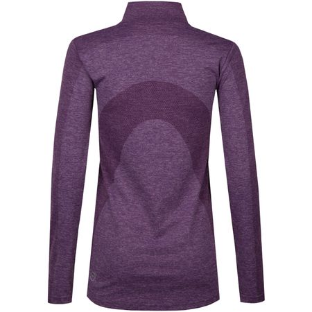 Golf undefined Womens Evoknit Seamless Quarter Zip Majesty - AW18 made by Puma Golf