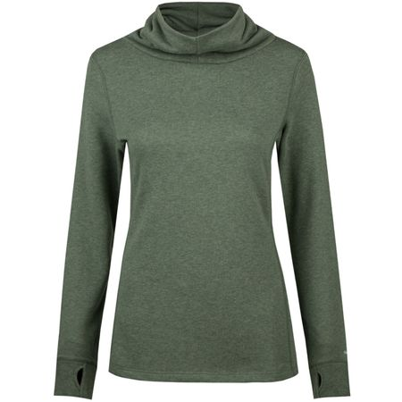 Golf undefined Womens Cozy Pullover Laurel Wreath Heather - 2019 made by Puma Golf