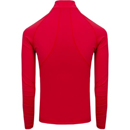 Golf undefined Womens LS Tech Quarter Zip Scarlet made by G/FORE