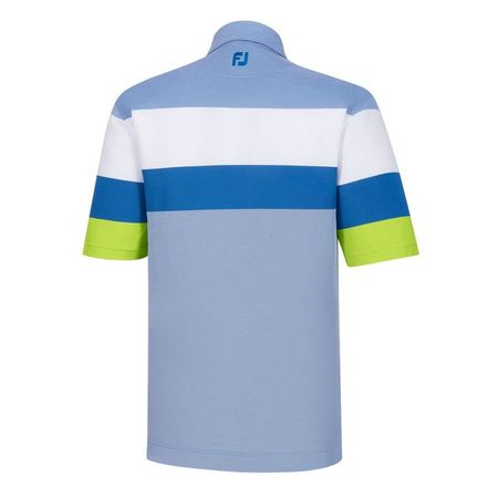 Golf undefined Engineered Birdseye Pique Self Collar Polo made by FootJoy