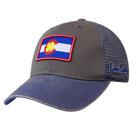 Golf undefined Black Clover Colorado Flag Patch Hat made by Black Clover