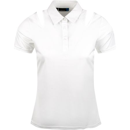 Golf undefined Womens Andrea TX Jersey White - SS19 made by J.Lindeberg
