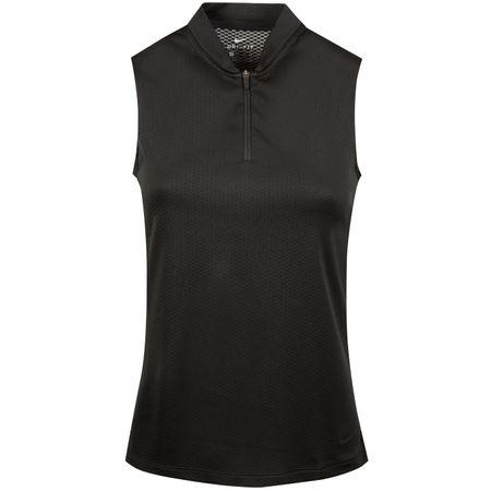 Golf undefined Womens Dry Blade Sleeveless Polo Black - SS19 made by Nike