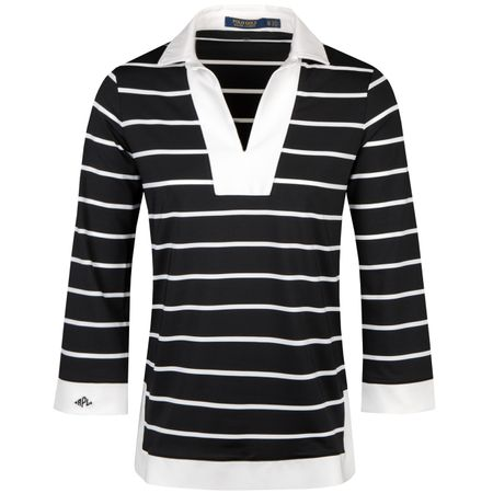 Golf undefined Womens Long Sleeve Golf Tunic Pure White/Polo Black - SS19 made by Polo Ralph Lauren