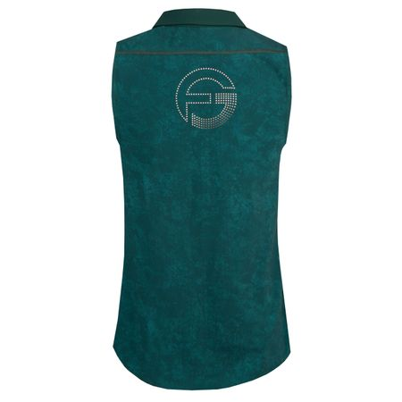 Polo Core Sleeveless Perforated Back Teal - 2018 Foray Golf Picture