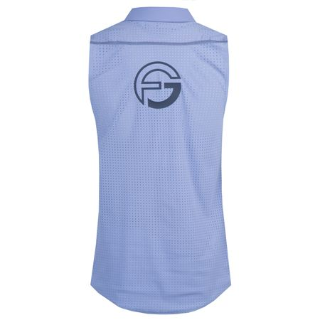 Polo Core Sleeveless Perforated Back Baja Blue- 2018 Foray Golf Picture
