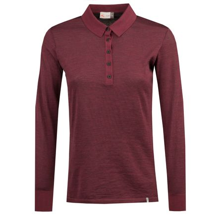 Polo Womens Sanja LS Polo Intensive Plum Melange - AW18 Kjus Picture