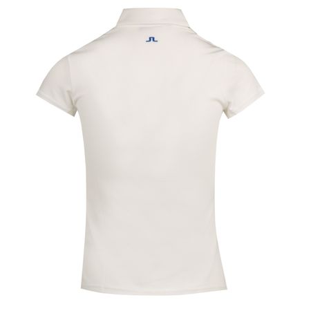 Golf undefined Womens Riya Lux Pique White - AW18 made by J.Lindeberg
