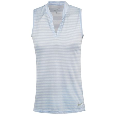 Golf undefined Womens Zonal Cooling Sleeveless Polo Royal Tint - AW18 made by Nike Golf