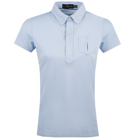 Polo Womens Performance Oxford Polo Austin Blue - AW18 Polo Ralph Lauren Picture
