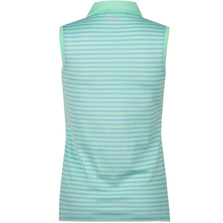 Golf undefined Womens Oxford Tech Pique SL Bud Green/Riviera Blue - AW18 made by Polo Ralph Lauren