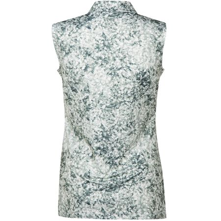 Golf undefined Womens Floral Sleeveless Polo Quiet Shade - AW18 made by Puma Golf
