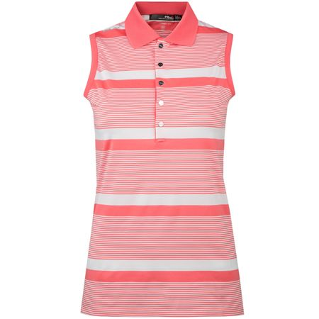 Golf undefined Womens Striped Airflow SL Polo Spring Mango - AW18 made by Polo Ralph Lauren