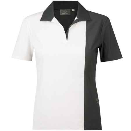 Golf undefined Block Party Asymmetric Polo White/Grey - 2018 made by Foray Golf