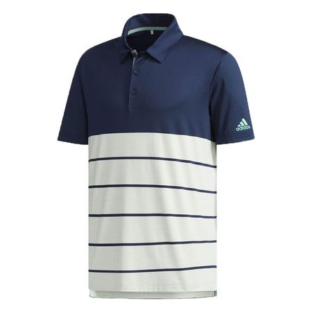 Golf undefined adidas Ultimate365 Heather Block Polo made by Adidas Golf