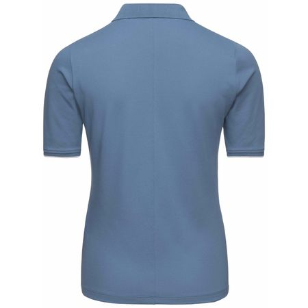 Golf undefined Womens Sanna 3/4 Polo Bijou Blue - SS18 made by Kjus