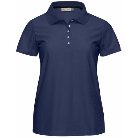Golf undefined Womens Signe Polo Atlanta Blue - 2018 made by Kjus