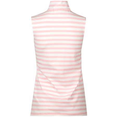 Golf undefined Womens Asymmetrical SL Half Zip Polo Island Pink - SS18 made by Polo Ralph Lauren