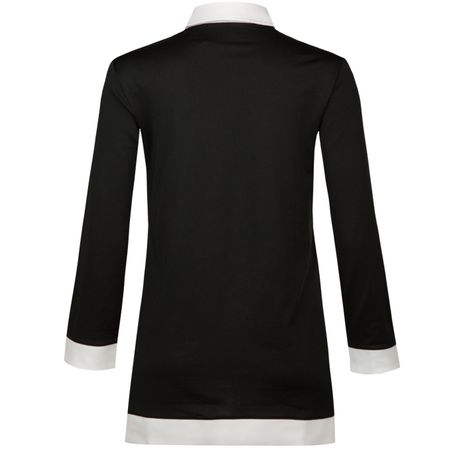 Golf undefined Womens Long Sleeve Golf Tunic Polo Black - SS18 made by Polo Ralph Lauren