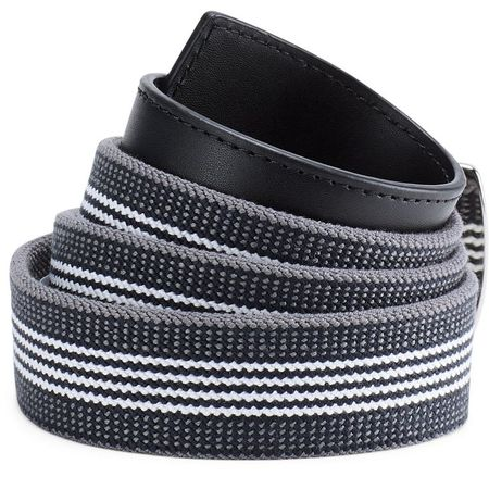 Golf undefined Under Armour Striped Performance Stretch Belt made by Under Armour