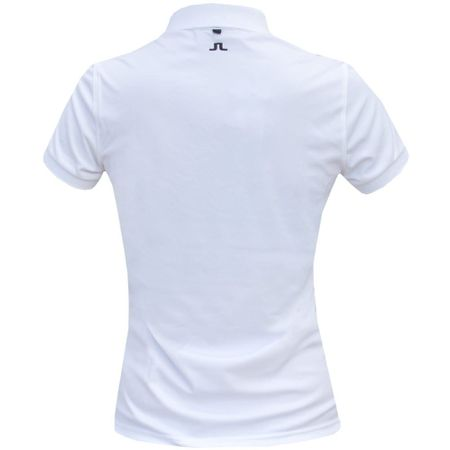 Polo Womens Tour Tech Slim TX Jersey White - 2019 J.Lindeberg Picture