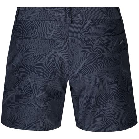 Shorts Womens Flex Shorts Light Carbon/Thunder Blue - SS18 Nike Golf Picture