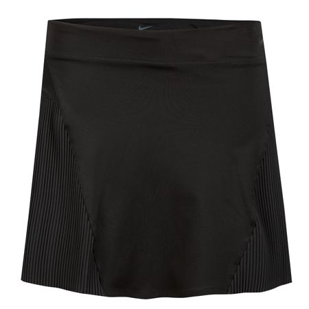 "Skirt Womens Back Pleat Dry 15"" Skirt Black - SS19 Nike Golf Picture"