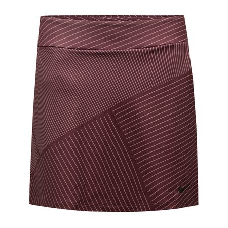 "Golf undefined Womens Dry Knit 16.5"" Print Skort Burgundy Crush - W18 made by Nike"