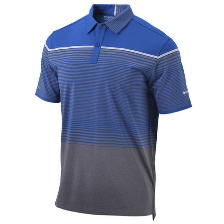 Golf undefined Columbia Omni-wick Drain It Short Sleeve Polo made by Outdoor Custom Sportswear