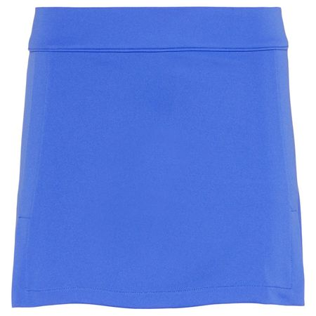 Skirt Womens Amelie Long TX Jersey Daz Blue - AW18 J.Lindeberg Picture