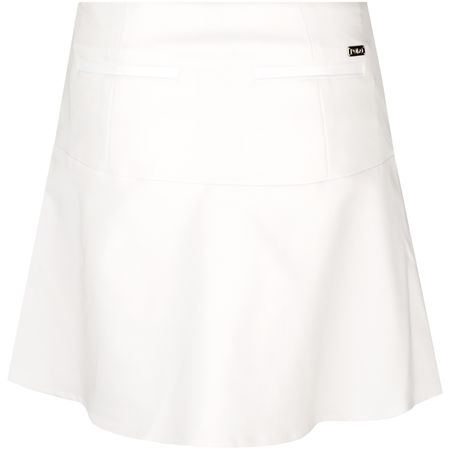 Skirt Womens Pull On Peplum Skort Pure White - AW18 Polo Ralph Lauren Picture