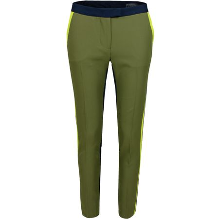 Golf undefined Womens Colour Block Trouser Olive/Twilight - SS19 made by G/FORE