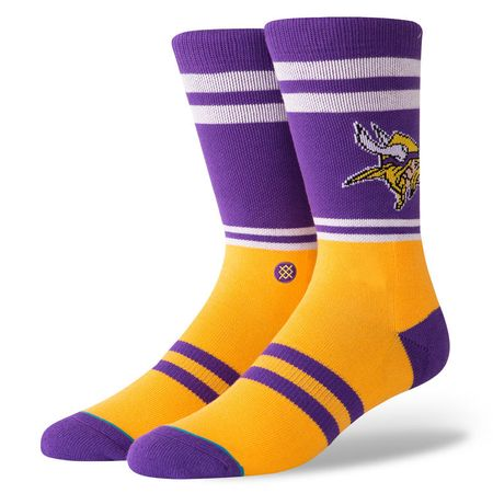 Golf undefined Stance Vikings Logo Socks made by Stance