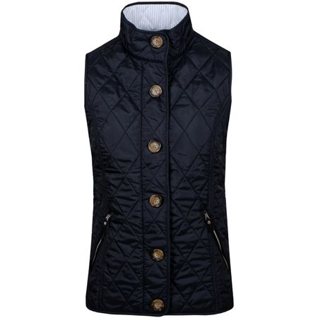 Golf undefined Womens Heritage Quilted Vest Polo Black - SS19 made by Polo Ralph Lauren