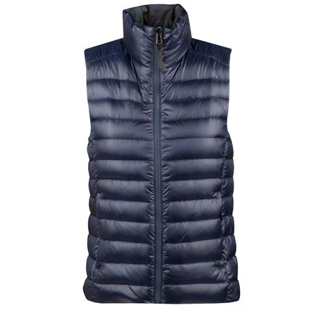 Golf undefined Womens Lux Down Reversible Vest Blackwatch Camo - AW18 made by Polo Ralph Lauren