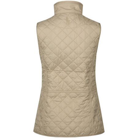 Golf undefined Womens Heritage Quilted Vest Dune Tan - AW18 made by Polo Ralph Lauren