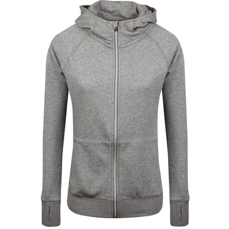 Golf undefined Womens Brisk Hoodie Medium Grey Heather - SS19 made by Puma Golf