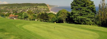 Overview of golf course named Sidmouth Golf Club