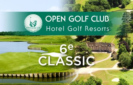 Cover of golf event named Classic Open Golf Club