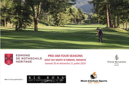 Hosting golf course for the event: Pro-Am Four Seasons 2019