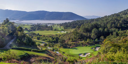 Overview of golf course named The Dalat at 1200