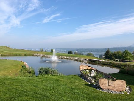 Overview of golf course named Golfpark Zürichsee