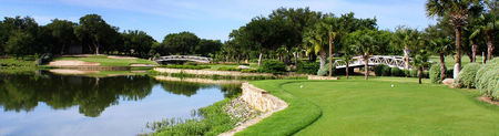 Overview of golf course named Horseshoe Bay Resort - Apple Rock