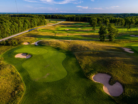 Overview of golf course named Treetops Resort - Tradition Course